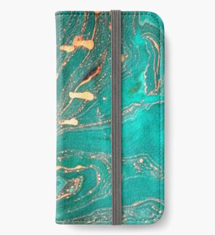 Underwater Gold iPhone Wallet