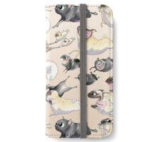 Pugs on the Run! iPhone Wallet/Case/Skin