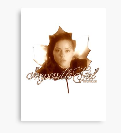 Doctor Who - Clara the Impossible Girl Canvas Print