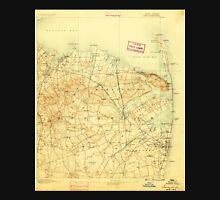 USGS TOPO Map New Jersey NJ Sandy Hook 255362 1888 62500 Unisex T-Shirt
