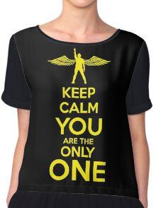 SL Keep Calm B Chiffon Top