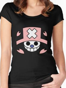 chopper one piece Women's Fitted Scoop T-Shirt
