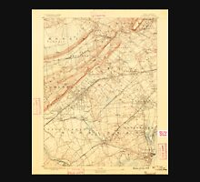 USGS TOPO Map New Jersey NJ Plainfield 255320 1888 62500 Unisex T-Shirt