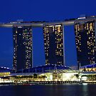 Marina Bay Sands by phil decocco