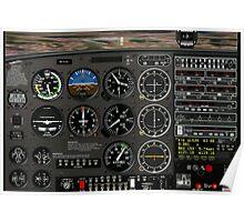 New 172 cockpit Poster