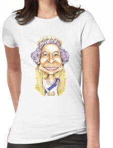 Queen Elizabeth II Womens Fitted T-Shirt