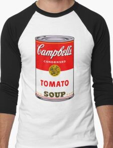 Campbell's Soup Andy Warhol Men's Baseball ¾ T-Shirt
