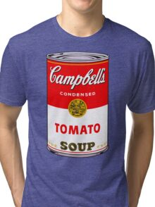 Campbell's Soup Andy Warhol Tri-blend T-Shirt