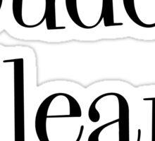 Louden Clear Sticker