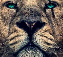 King of Judah Sticker