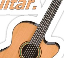 Play Spanish Guitar Sticker