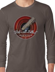Bat's All Folks! Long Sleeve T-Shirt