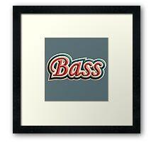 Bass Old Tricolor Framed Print