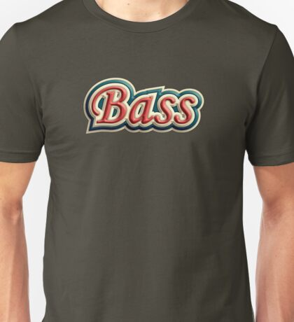 Bass Old Tricolor Unisex T-Shirt