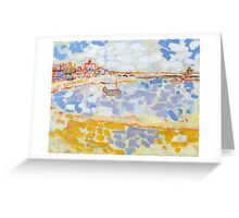 Harbour & Boats Greeting Card