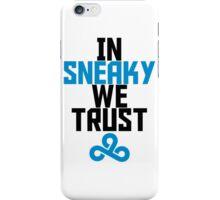 In Sneaky we trust iPhone Case/Skin