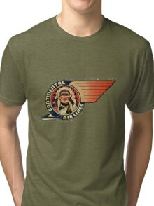 Continental Airlines Tri-blend T-Shirt