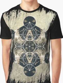 Metatron's Cube Graphic T-Shirt