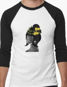 Wildflower Crown IV Men's Baseball ¾ T-Shirt