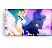 CELESTIA & LUNA TAKE ON DISCORD Metal Print