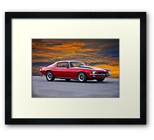 1970 Chevrolet Camaro Z28 Framed Print