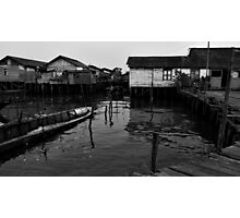 Floating Homes Photographic Print