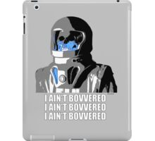Doctor Who - Vashta Nerada I AIN'T BOVVERED Catherine Tate iPad Case/Skin
