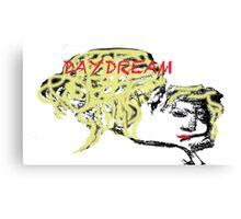 Day Dream Woman Canvas Print