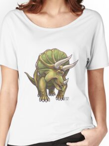 Animal Parade Triceratops Women's Relaxed Fit T-Shirt