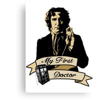 Doctor Who - My first Doctor (Who) eighth 9th Paul McGann Canvas Print