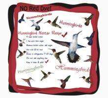 Hummingbird Nectar Recipe Baby Tee