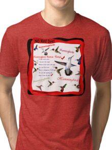 Hummingbird Nectar Recipe Tri-blend T-Shirt
