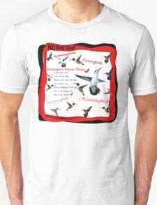 Hummingbird Nectar Recipe Unisex T-Shirt
