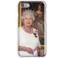 The Queen in Canada iPhone Case/Skin