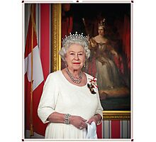 The Queen in Canada Photographic Print
