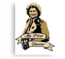 Doctor Who - My first Doctor (Who) sixth 6th Colin Baker Canvas Print