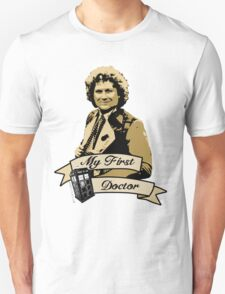 Doctor Who - My first Doctor (Who) sixth 6th Colin Baker T-Shirt