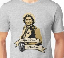 Doctor Who - My first Doctor (Who) sixth 6th Colin Baker Unisex T-Shirt