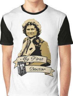Doctor Who - My first Doctor (Who) sixth 6th Colin Baker Graphic T-Shirt