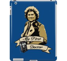 Doctor Who - My first Doctor (Who) sixth 6th Colin Baker iPad Case/Skin