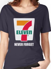 7 11 never forget Women's Relaxed Fit T-Shirt