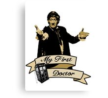 Doctor Who - My first Doctor (Who) Third 3rd Jon Pertwee Canvas Print