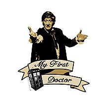 Doctor Who - My first Doctor (Who) Third 3rd Jon Pertwee Photographic Print
