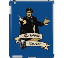 Doctor Who - My first Doctor (Who) Third 3rd Jon Pertwee iPad Case/Skin
