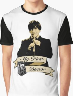 Doctor Who - My first Doctor (Who) Second 2nd Patrick Troughton Graphic T-Shirt