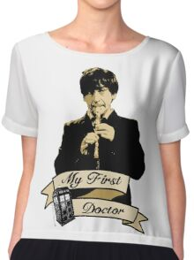 Doctor Who - My first Doctor (Who) Second 2nd Patrick Troughton Chiffon Top