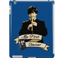 Doctor Who - My first Doctor (Who) Second 2nd Patrick Troughton iPad Case/Skin