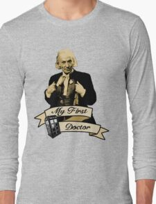 Doctor Who - My first Doctor (Who) First 1st William Hartnell Long Sleeve T-Shirt