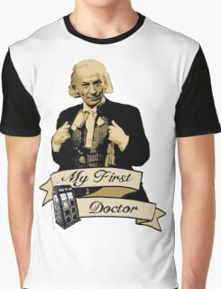 Doctor Who - My first Doctor (Who) First 1st William Hartnell Graphic T-Shirt