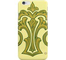 Showland Scroll - cream iPhone Case/Skin
